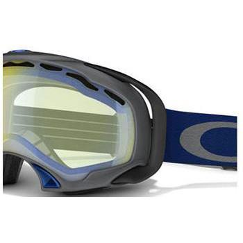 Oakley Goggles Gunmetal Grey Navy / Hi Intensity Yellow CAT.1 Oakley Splice Ski/Snowboard Goggle