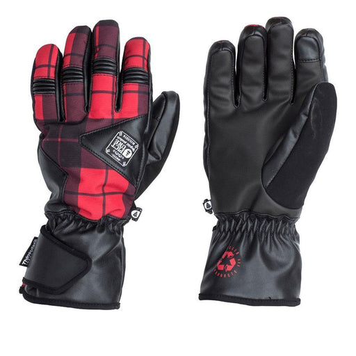 Picture Gloves & Mittens Red Tweed Print / Size 9 Picture Lofter Mens Glove 3663270162891 GTO58