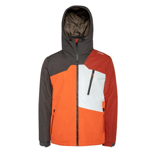 Protest Jackets Small / Orange Protest Mens Purton Ski Jacket 8719947015238 6710492