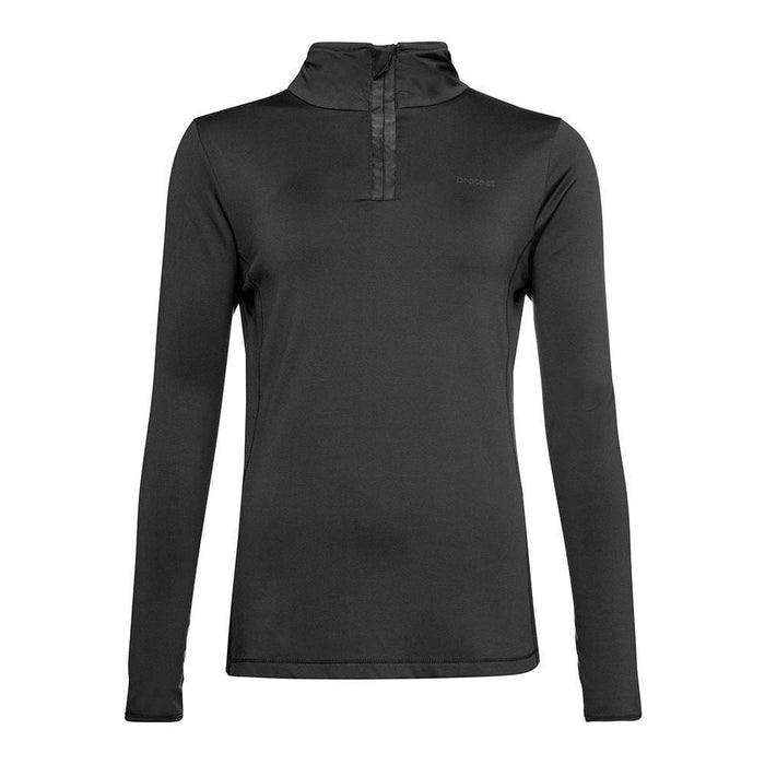 Protest Mid Layers Black / X-Small Protest Ladies Fabriz 1/4 Zip Top 8719947107117 3693000