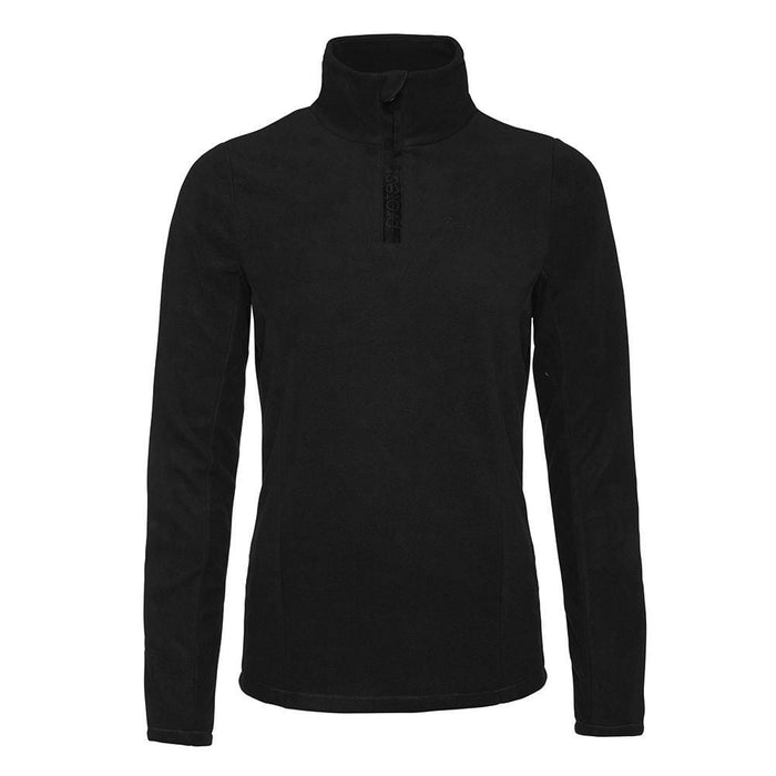 Protest Mid Layers Black / X-Small Protest Ladies Mutey 1/4 Zip Fleece Top 8718025206087 3610300