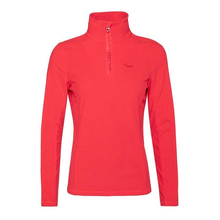 Protest Mid Layers Pink / X-Small Protest Ladies Mutey 1/4 Zip Fleece Top 8718025984299 3610300