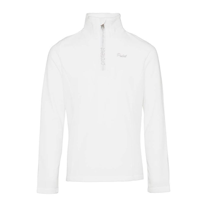 Protest Mid Layers White / 128cm Protest Girls Mutey 1/4 Zip Top 8718025299942 3910300