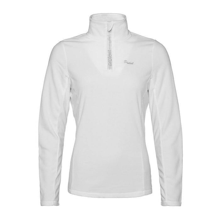 Protest Mid Layers White / X-Small Protest Ladies Mutey 1/4 Zip Fleece Top 8718025205691 3610300