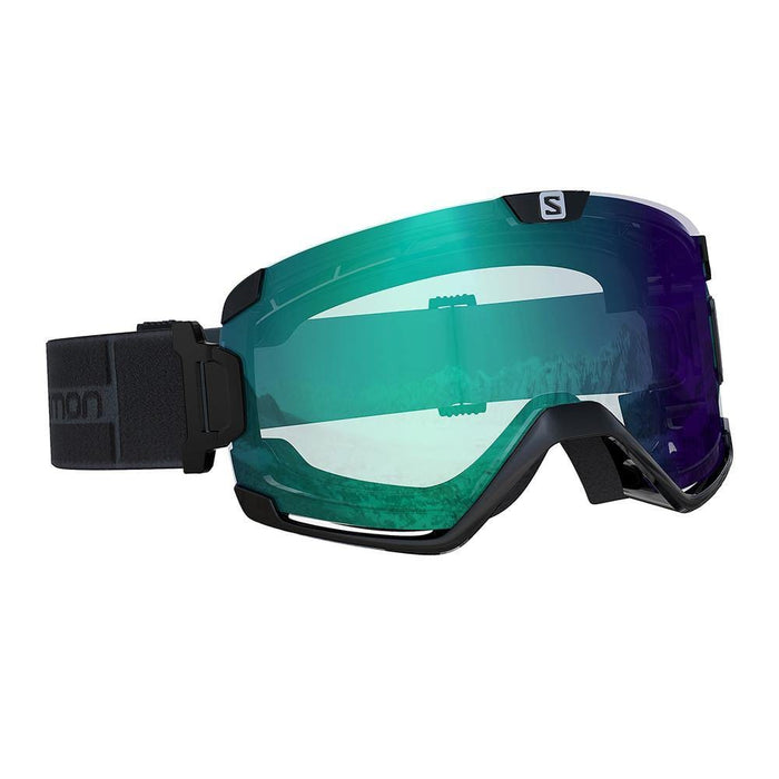 Salomon Goggles Black / Blue Photochromic Salomon Cosmic Ski Goggle 889645991436 L40842700