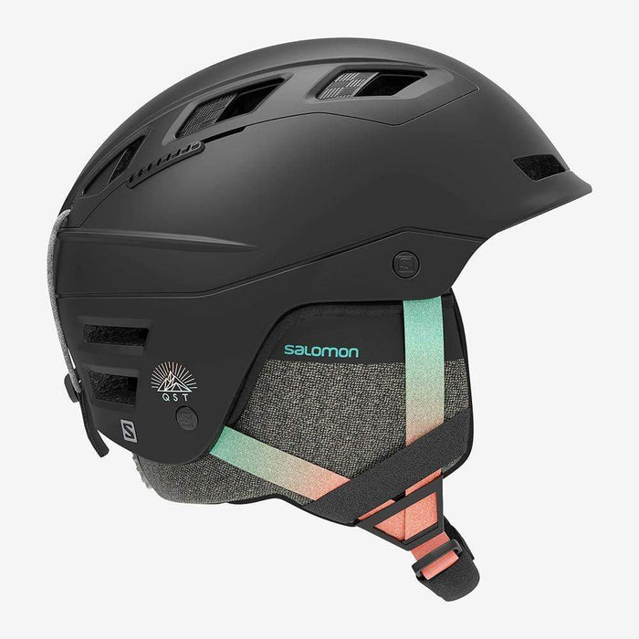 Salomon Helmets Black Gradient / 53/56 Salomon QST Charge W Ski Helmet 889645990279 L40838300