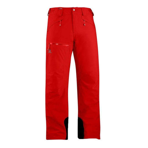 Salomon Pants Barbados Cherry / XX-Large Salomon Brilliant Mens Ski Pant 889645379562 398933