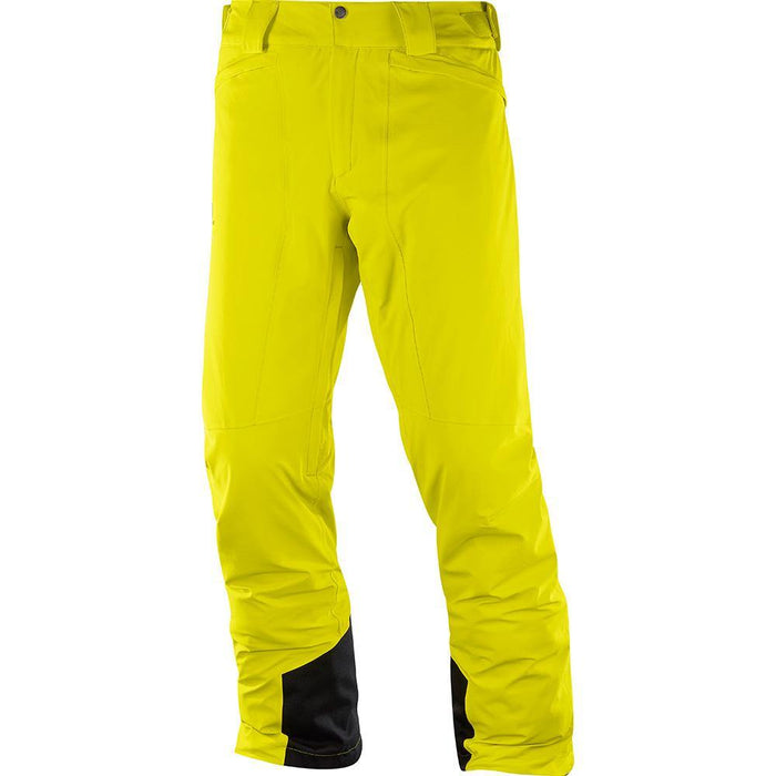 Salomon Pants Sulphur Spring / Small Salomon IceMania Mens Ski Pant 889645737621 1004200