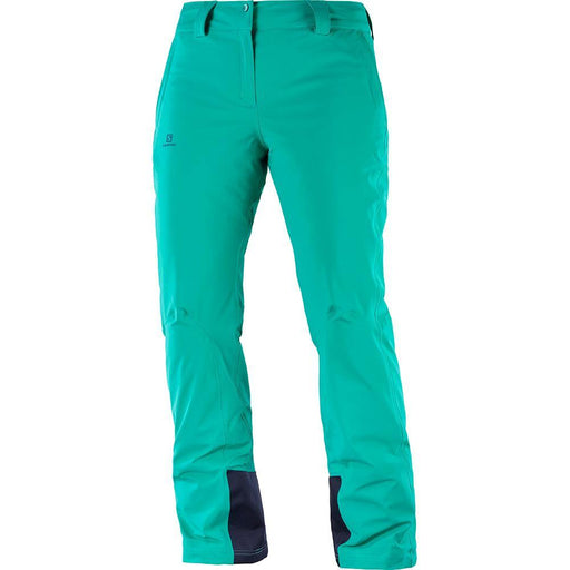 Salomon Pants Waterfall / X-Small Salomon IceMania Ladies Ski Pant 889645733517 1005800