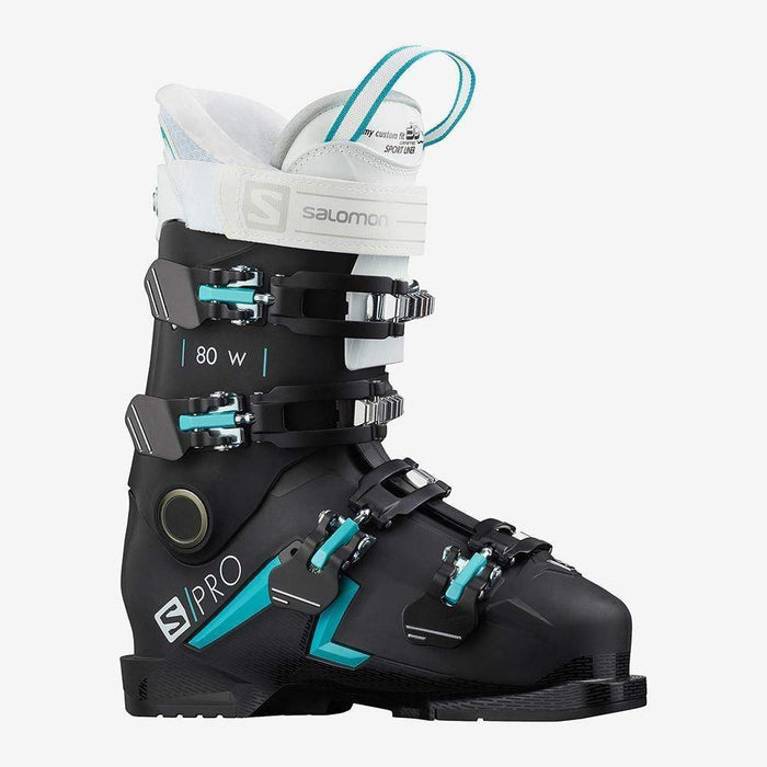 Salomon Ski Boots 22.5 / Black Salomon S/Pro 80 W Ski Boot 889645995069 40875900