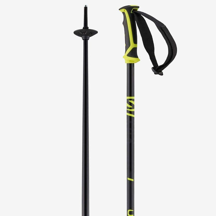 Salomon Ski Poles Black/Neon Yellow / 115 Salomon X 08 Ski Pole 889645987446 L40827200