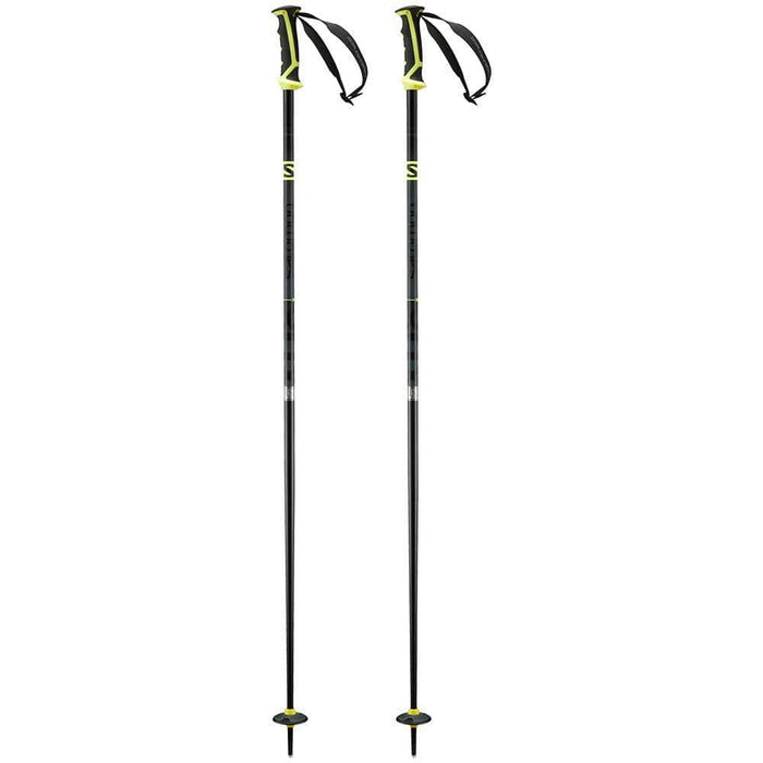 Salomon Ski Poles Grey/Yellow / 130 Salomon X 08 Ski Pole 889645319148 L39938900130