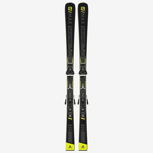 Salomon Skis 160 / Z12 / Black Salomon S / Max 10 Ski + Z12 Binding 889645668536 L40894900
