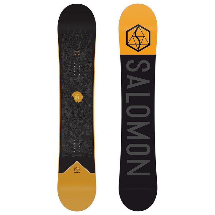 Salomon Snowboards 153 / Black Salomon Sight Snowboard 193128096366 L40830200