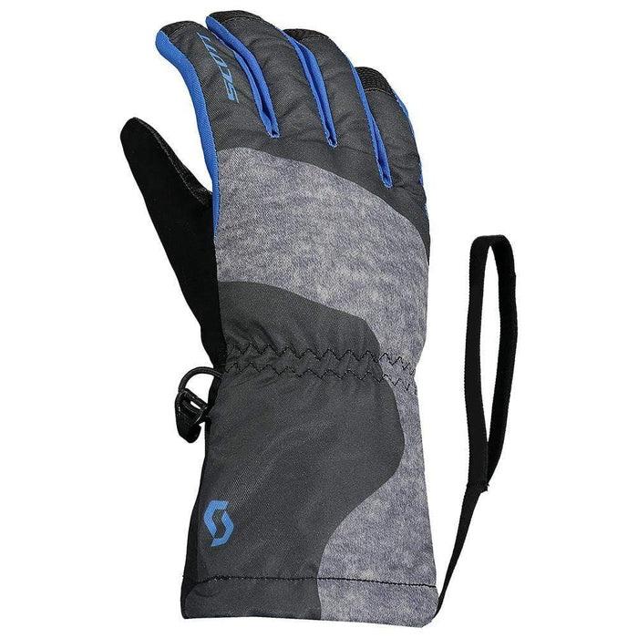 Scott Gloves & Mittens Black/Blue / Kids S Scott Ultimate Junior Ski Glove 7613368350125 267360