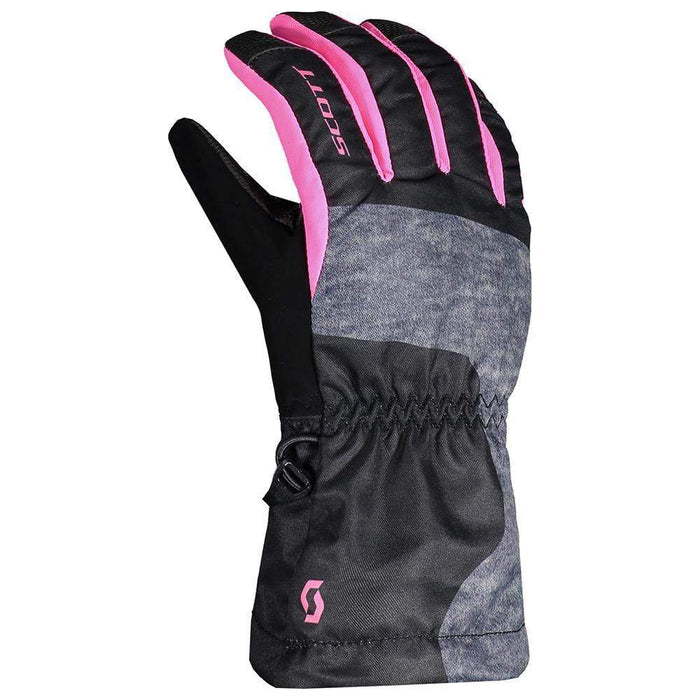 Scott Gloves & Mittens Black/Pink / Kids S Scott Ultimate Junior Ski Glove 7613368228813 267360
