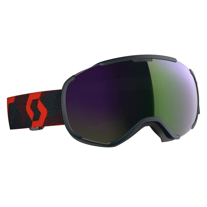 Scott Goggles Blue / Enhancer Green Chrome Scott Faze II Ski Goggle 7613368576303 271816