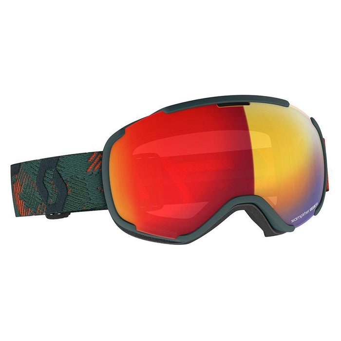 Scott Goggles Sombre Green / Enhancer Red Chrome Scott Faze II Ski Goggle 7613368576303 271816