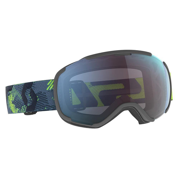 Scott Goggles Ultralime Green / Storm Grey / Enhancer Green Chrome Scott Faze II Ski Goggle 7613368576303 271816
