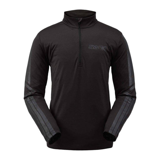 Spyder Mid Layers Black / Ebony / Small Spyder Mens Paramount Zip T-Neck 192636053601 191262