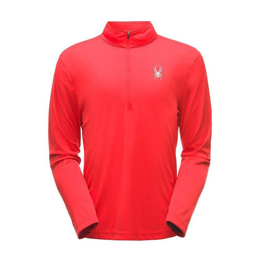 Spyder Mid Layers VCO Red / Small Spyder Limitless Mens Solid Zip T Neck 191839046700 181354