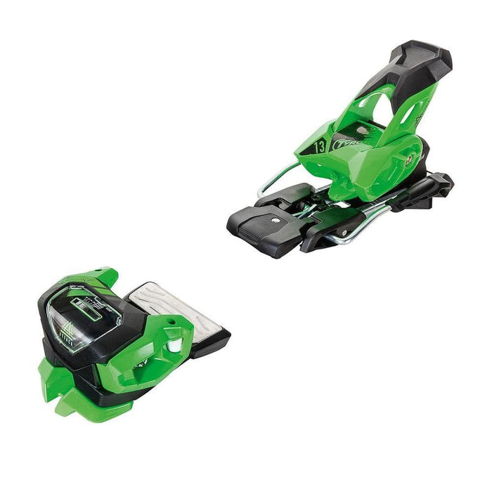 Tyrolia Skis Brake 95 / Attack-2 13 / Green Tyrolia Attack 2 13 Ski Binding 008466141268 114126