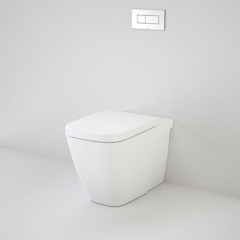 Cube Wall Faced Invisi Series II® Toilet Suite