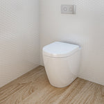 Urbane Compact Invisi Series II® Wall Faced Toilet Suite