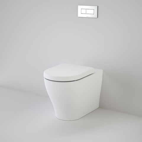 Luna Cleanflush Invisi Series II Wall Faced Toilet Suite