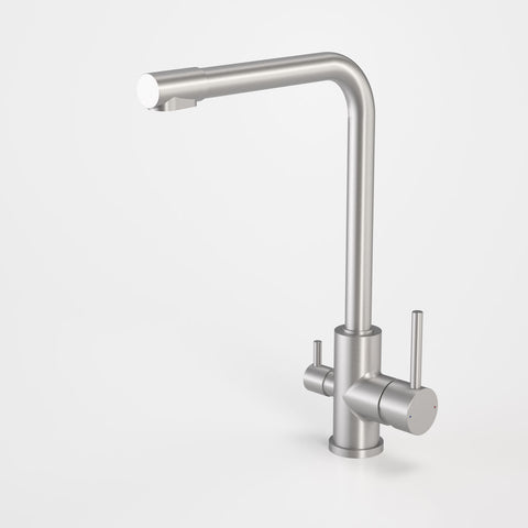 Compass Stainless Steel Dual Flow Sink Mixer
