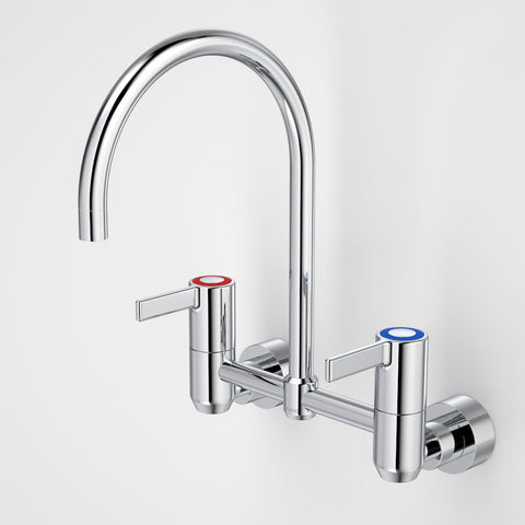 G Series+ Exposed Wall Sink Set (200mm outlet + 80mm handles)