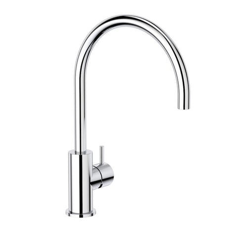 Round Pin Sink Mixer - Chrome