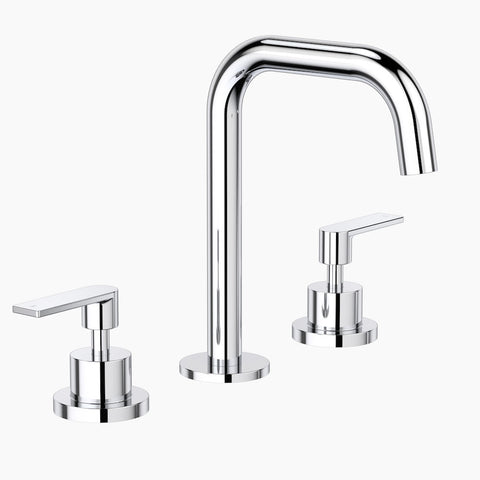 Lever Basin Set - Chrome