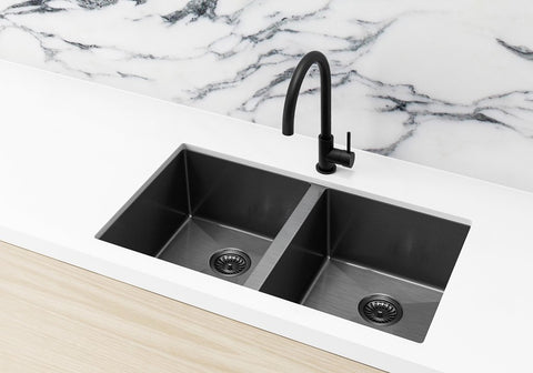 Kitchen Sink - Double Bowl 760 X 440 - Pvd