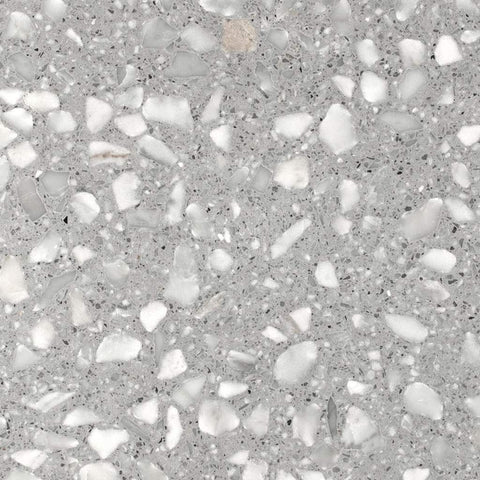 Med Grey Torcello Terrazzo Slab Honed