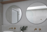 Round Polished Edge Mirror