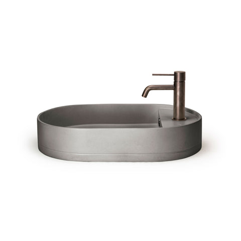 Shelf Oval Basin — Surface Mount