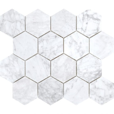 Tuscany - Carrara Large Hexagon