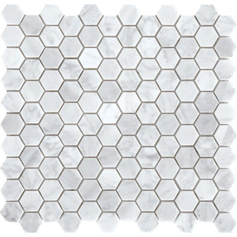 Tuscany - Carrara Small Hexagon