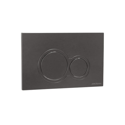 Kibo Flush Buttons - Brushed Gun Metal