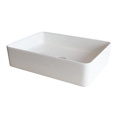 Xoni 500x350 Thin Rectangular Above Counter Basin