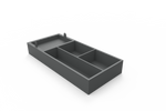 Small Leatherette Drawer Organiser