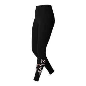 Signature High Rise Leggings [Metallic Rose Gold]