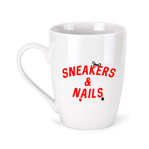 Sneakers And Nails Mug [Red]