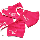 Signature Cotton Face Mask [Pink]