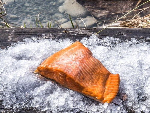 Manuka hot smoked High Country Salmon