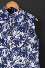 Blue Tropical Bundi Jacket