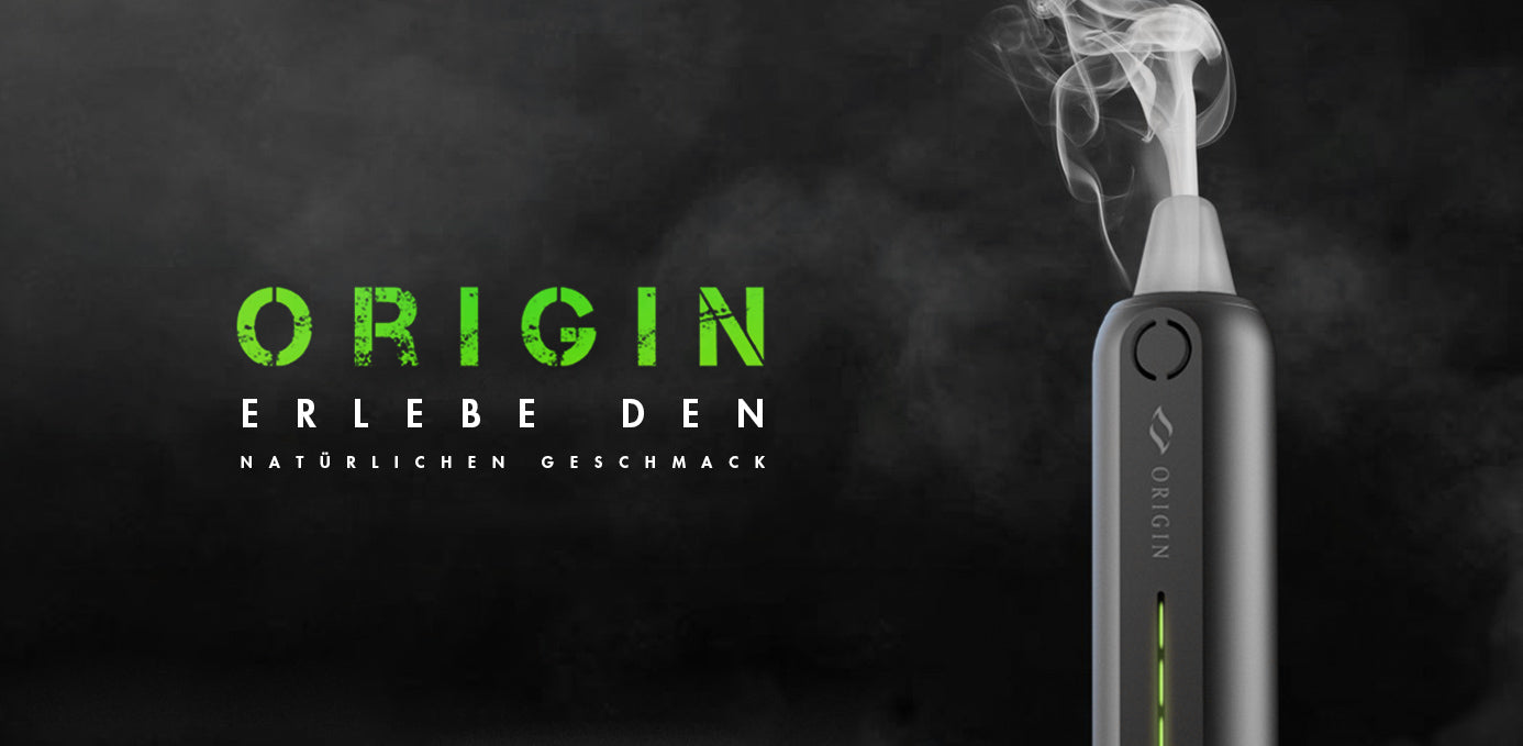 Der neue Origin Vaporizer is da!