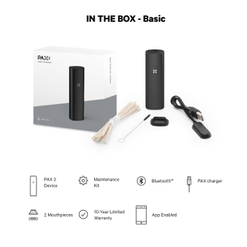 Lieferumfang Pax 3 Basis Set