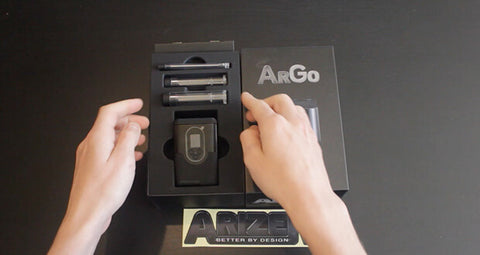 Arizer ArGo for WM Public viewing